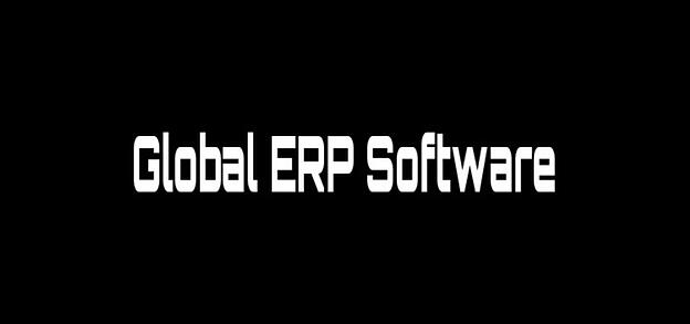 ERP Global Software for Manufacturers