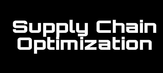 Supply Chain Optimization Methods